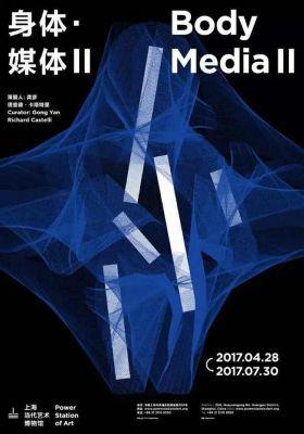 BODY MEDIA II (group) @ARTLINKART, exhibition poster