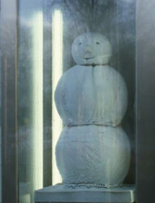FISCHLI / WEISS - SNOWMAN (solo) @ARTLINKART, exhibition poster