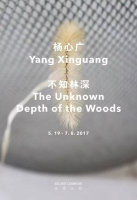 THE UNKNOWN DEPTH OF THE WOODS (solo) @ARTLINKART, exhibition poster