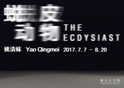 THE ECDYSIAST – YAO QINGMEI SOLO EXHIBITION (solo) @ARTLINKART, exhibition poster