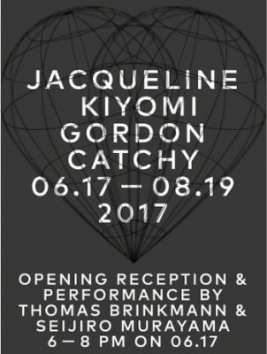 JACQUELINE KIYOMI GORDON - CATCHY (solo) @ARTLINKART, exhibition poster