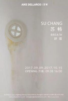 SU CHANG - BREATH (solo) @ARTLINKART, exhibition poster