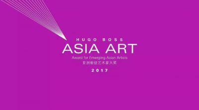HUGO BOSS ASIA ART AWARD FOR EMERGING ASIAN ARTISTS 2017 (group) @ARTLINKART, exhibition poster