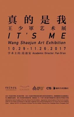 IT'S ME - WANG SHAOJUN ART EXHIBITION (solo) @ARTLINKART, exhibition poster
