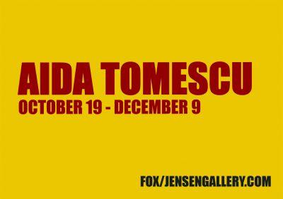 AIDA TOMESCU - THE POETICS OF RESISTANCE (solo) @ARTLINKART, exhibition poster
