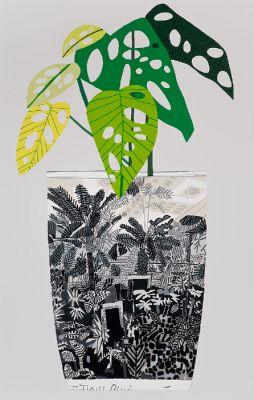 LA INVITATIONAL (group) @ARTLINKART, exhibition poster
