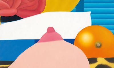 TOM WESSELMANN - BEDROOM PAINTINGS (solo) @ARTLINKART, exhibition poster