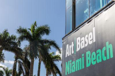 BLUM & POE@2017 ART BASEL MIAMI BEACH (art fair) @ARTLINKART, exhibition poster