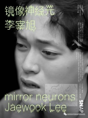 JAEWOOK LEE SOLO EXHIBITION– MIRROR NEURONS (solo) @ARTLINKART, exhibition poster