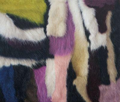 VICTORIA GITMAN - TAKTISCH (solo) @ARTLINKART, exhibition poster