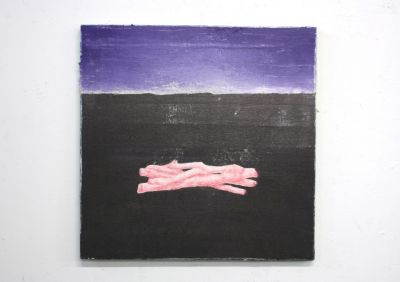 CIARáN MURPHY - PLAINSIGHT (solo) @ARTLINKART, exhibition poster