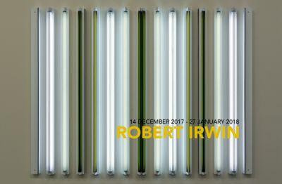 ROBERT IRWIN (solo) @ARTLINKART, exhibition poster