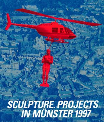 SCULPTURE EXHIBITION IN MüNSTER, 1997 (intl event) @ARTLINKART, exhibition poster