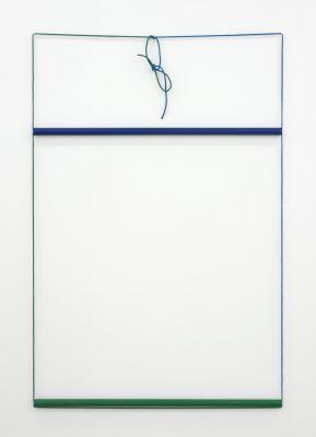OLIVER PERKINS - BLEEDING EDGE (solo) @ARTLINKART, exhibition poster