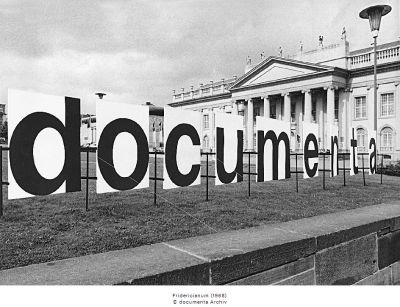 DOCUMENTA 4 (intl event) @ARTLINKART, exhibition poster