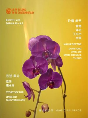 MAGICIAN SPACE@BEIJING CONTEMPORARY 2018 (art fair) @ARTLINKART, exhibition poster
