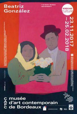 BEATRIZ GONZáLEZ - RETROSPECTIVE 1965–2017 (solo) @ARTLINKART, exhibition poster
