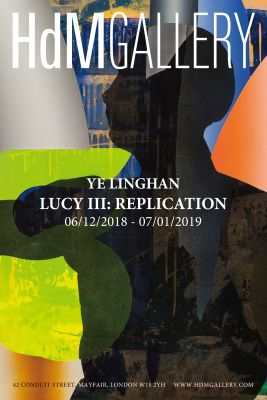 LUCY III - REPLICATION (solo) @ARTLINKART, exhibition poster