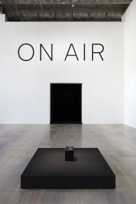 TOMáS SARACENO - ON AIR (solo) @ARTLINKART, exhibition poster