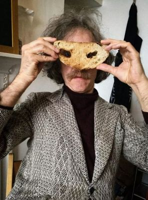 MARTIN CREED - TOAST (solo) @ARTLINKART, exhibition poster