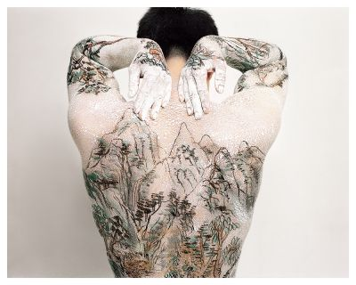 HUANG YAN - TATTOO UTOPIA (solo) @ARTLINKART, exhibition poster
