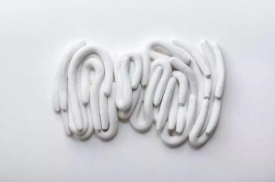 ANNA MARIA MAIOLINO -  POETIC WANDERINGS (solo) @ARTLINKART, exhibition poster