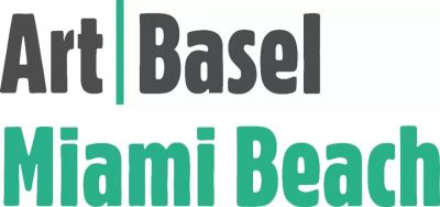 GALERIE BäRBEL GRäSSLIN@ART BASEL MIAMI BEACH 2018 (art fair) @ARTLINKART, exhibition poster