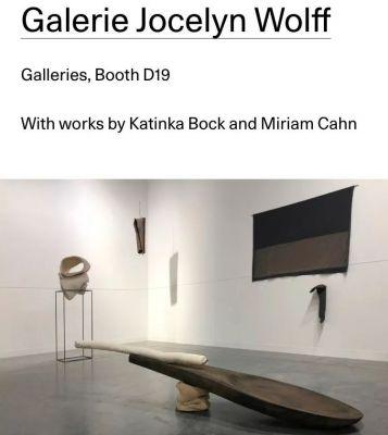 GALERIE JOCELYN WOLFF@ART BASEL MIAMI BEACH 2018 (art fair) @ARTLINKART, exhibition poster
