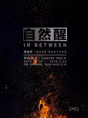 CHEN HAOYANG SOLO EXHIBITION - IN BETWEEN (solo) @ARTLINKART, exhibition poster