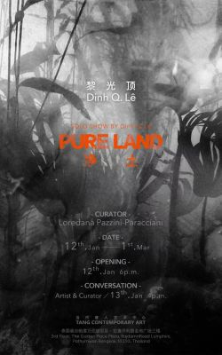 DINH Q. Lê - PURE LAND (solo) @ARTLINKART, exhibition poster