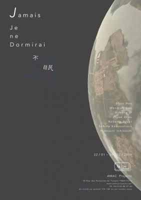 JAMAIS JE NE DORMIRAI (group) @ARTLINKART, exhibition poster