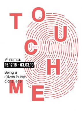 TOUCH ME - 1ST EDITION OF THE STRASBOURG BIENNALE OF CONTEMPORARY ART (group) @ARTLINKART, exhibition poster
