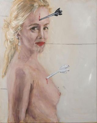 JAN VAN IMSCHOOT - AMORE DORMIENTE (solo) @ARTLINKART, exhibition poster