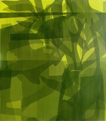 SIMON DEGROOT - ANTERIOR VERDURE (solo) @ARTLINKART, exhibition poster
