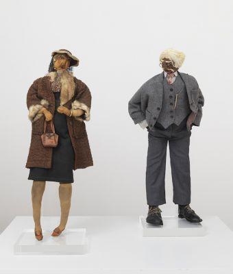 JOHN OUTTERBRIDGE - EAST COAST/WEST COAST, PART II: (solo) @ARTLINKART, exhibition poster