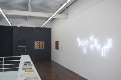 ANGELA DETANICO E RAFAEL LAIN - TIMEWAVES (CHAPTER II) (solo) @ARTLINKART, exhibition poster