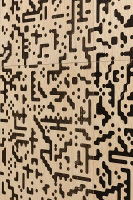 JOSÉ GARCÍA VALLÉS - BOILER ROOM. CERO ABSOLUTO: LAMBDA. (solo) @ARTLINKART, exhibition poster