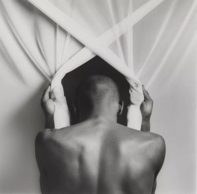 IMPLICIT TENSIONS - MAPPLETHORPE NOW (PART 2) (group) @ARTLINKART, exhibition poster