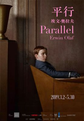 PARALLEL - ERWIN OLAF (solo) @ARTLINKART, exhibition poster