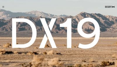 DESERT X 19 (intl event) @ARTLINKART, exhibition poster