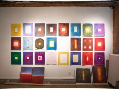 LUCHITA HURTADO - DARK YEARS (solo) @ARTLINKART, exhibition poster