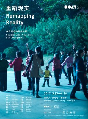 REMAPPING REALITY—SELECTED VIDEO COLLECTION FROM WANG BING (group) @ARTLINKART, exhibition poster