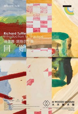RICHARD TUTTLE - INTRODUCTION TO PRACTICE (solo) @ARTLINKART, exhibition poster