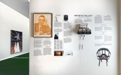 MATTHEW DAY JACKSON - PATHETIC FALLACY (solo) @ARTLINKART, exhibition poster
