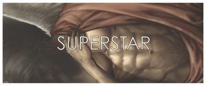 SCOTT LYALL - SUPERSTAR (solo) @ARTLINKART, exhibition poster