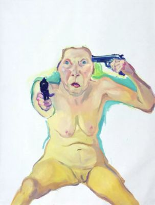 MARIA LASSNIG - WAYS OF BEING (solo) @ARTLINKART, exhibition poster