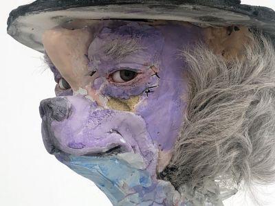 DAVID ALTMEJD - THE VIBRATING MAN (solo) @ARTLINKART, exhibition poster
