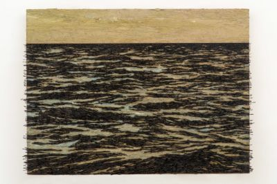 YOAN CAPOTE - TERRITORIAL WATERS (solo) @ARTLINKART, exhibition poster