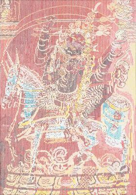 ZHENG GUOGU - VISIONARY TRANSFORMATION (solo) @ARTLINKART, exhibition poster