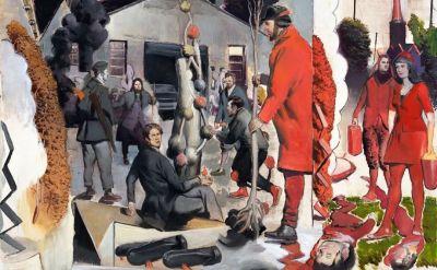 尼奥·劳赫——来自地面 (个展) @ARTLINKART展览海报